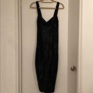 Herve Léger Sequin Dress